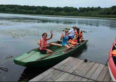 Tisza-tavi kenutúra és csónaktúra