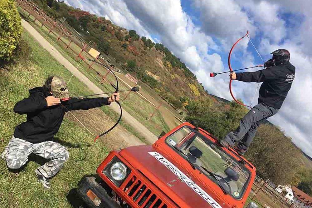 Íjharc – Archery tag élményjáték